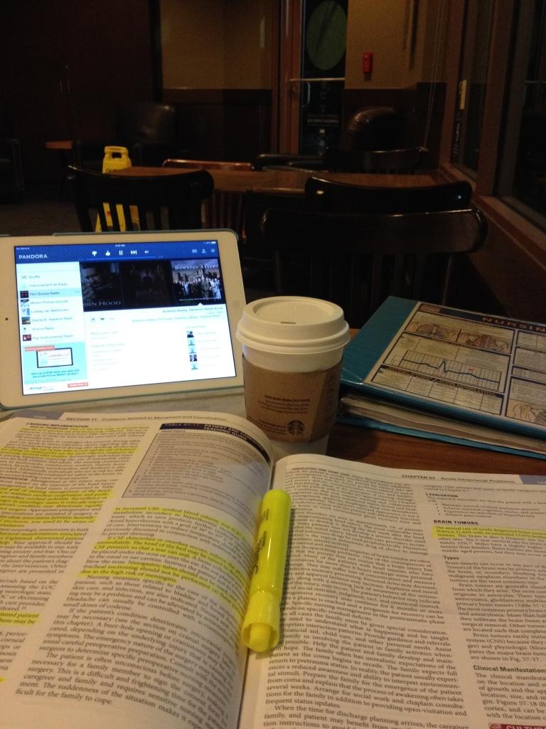 Starbuck's study space