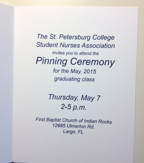 SPC graduation invite